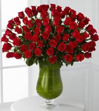 72 Luxury Roses Bouquet