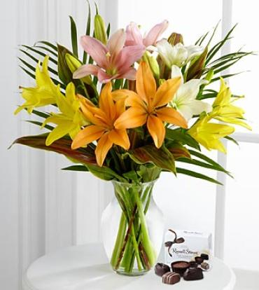 Cheerful Impressions Lily Bouquet