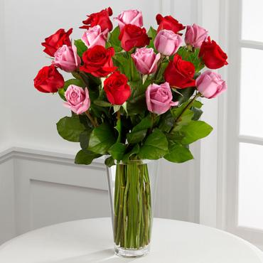 "The True Romanceâ""¢ Rose Bouquet"
