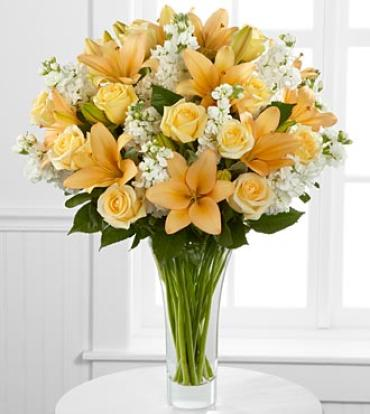 Admiration Luxury Rose & Lily Bouquet - 36 Stems